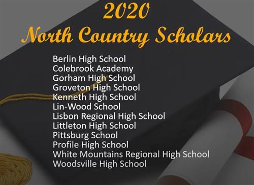 Click to watch the 2020 North Country Scholars video